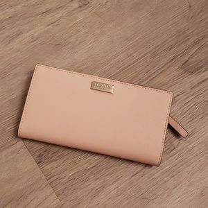 Kate Spade Laurel Way Wallet in warm vellum